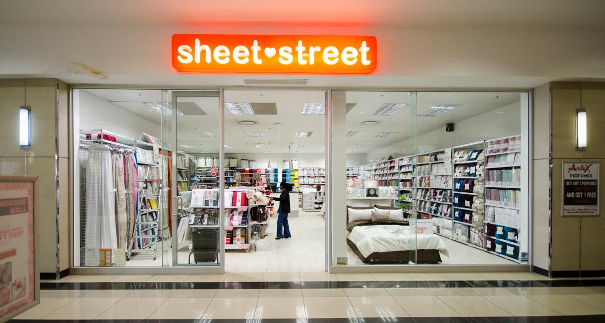 Sheet Street Randridge Mall